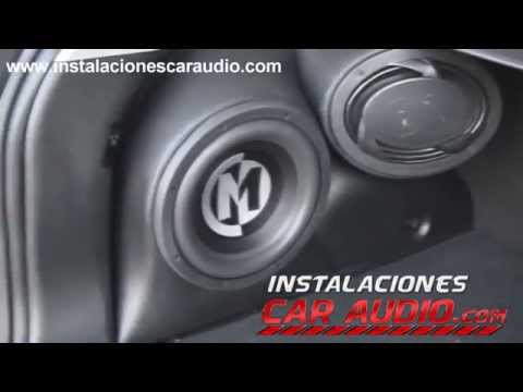Instalación Car Audio Kia Sportage Bajos y Parlantes Memphis