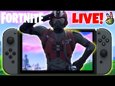 Pro Nintendo Switch Player! // How To Fly Faster 101! // (Fortnite Battle Royale LIVE) thumbnail