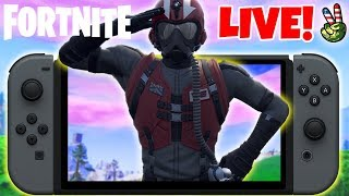 Pro Nintendo Switch Player! // How To Fly Faster 101! // (Fortnite Battle Royale LIVE)