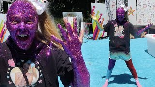 I COVERED MY ENTIRE BODY IN GLITTER!!