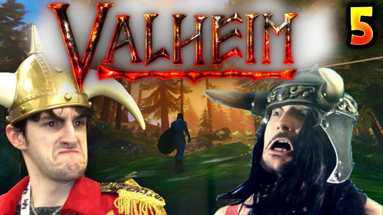 ON TROUVE LE MARCHAND, GENRE COMME CA !! -Valheim- Ep.5 avec Benzaie & Bob !