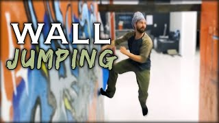 Wall Jumping | Parkour Tic Tac | Natural Movement Skill
