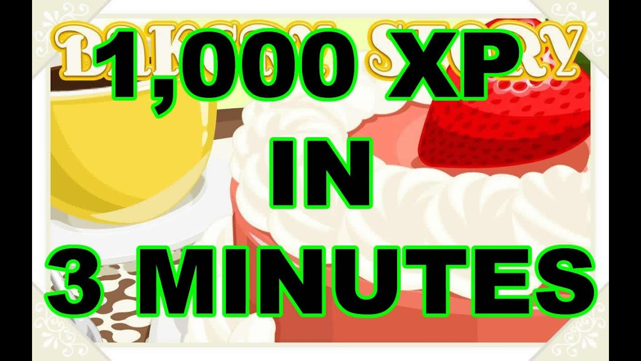 bakery story: 1,000 xp in 3 minutes! - youtube