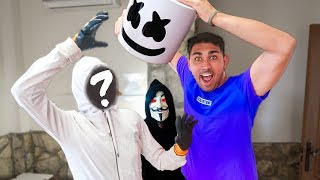WE REMOVE THE HOUSE TO MARSHMELLO MERCI À LA HACKER 'Fortnite dans la vraie vie'