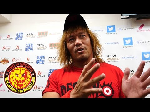 BEST OF THE SUPER Jr. 25  (May 22) Post-match Interview [4th match]
