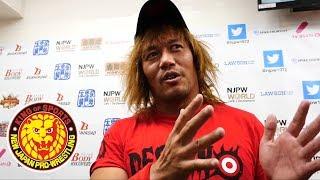 Naito responds to Jericho