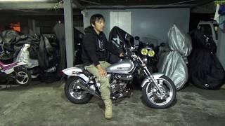 ホンダ:マグナ50(1995)参考動画「マグナは何が楽しいバイクなのか」