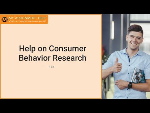 Consumer Behavior Assignment Essays Writing from Myassignmenthelp.com