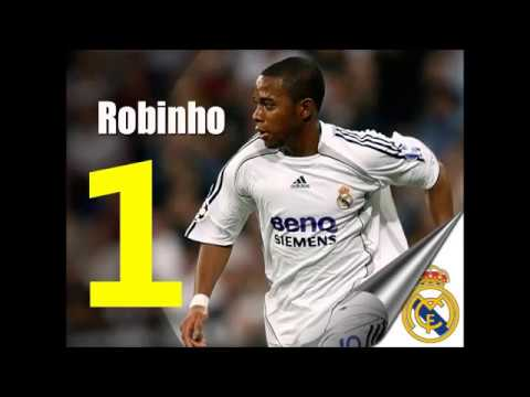 Top 10 Robinho Gols do Real Madrid