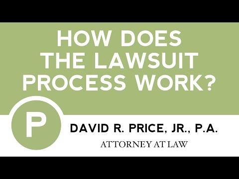How Does The Lawsuit Process Work? | Greenville SC Personal Injury Attorney | 864-271-2636
