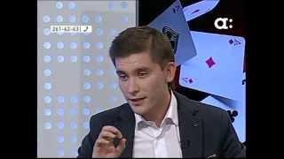 Ведущий Александр Антонов в прямом эфире АФОНТОВО!