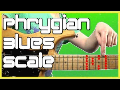 Phrygian Blues Scale Guitar Tutorial: Licks, Tabs, Jam Track & Theory thumbnail