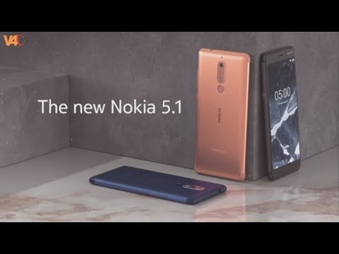 Nokia 5.1 Official Look, Release Date, Price, Specifications, Features, Camera, First Look, Review