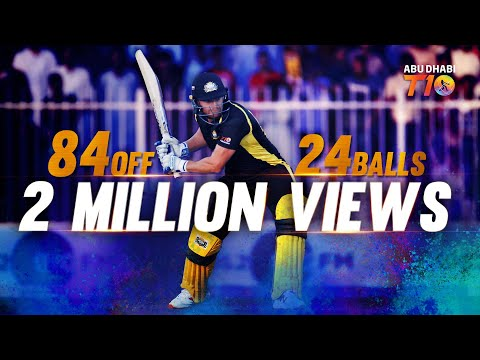Johny Bairstow's unstoppable 84 off 24 balls!!! A hard-hitting treat!!! Must watch!!!