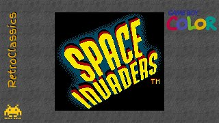 Space Invaders ✦ GBC