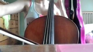 Safe and Sound by Taylor Swift cello cover by Martine Voisine