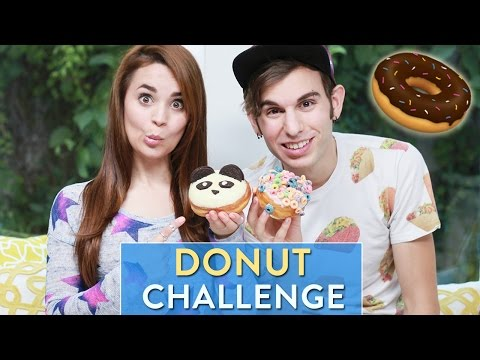 DONUT CHALLENGE! w/ Jake Roper