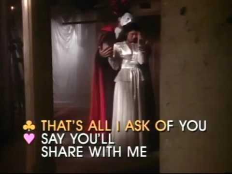 All I Ask Of You - Video Karaoke (Pioneer)