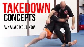 Grappling Takedown Concepts: Jiu-Jitsu • Sambo • Wrestling