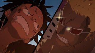 One Piece - Luffy vs Doflamingo Fan Animation (part 1)