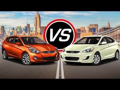 2016 Hyundai Accent Sport vs 2016 Hyundai Accent SE Spec Comparison