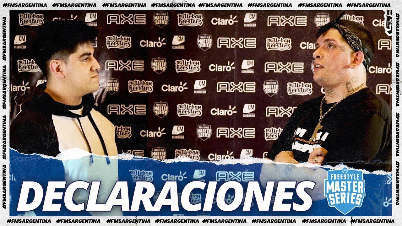 "KLAN: ""Me veo mejor, mucho mejor"" l Declaraciones Parte 2 l FMS Argentina Jornada 3"