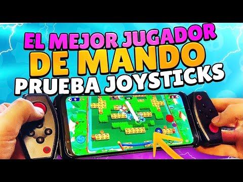 EL MEJOR JUGADOR de MANDO PRUEBA los JOYSTICKS en BRAWL STARS en el MÓVIL!!🔥 - MaRCeU