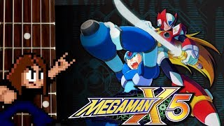 Mega Man X5 Guitar Playthrough