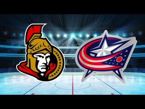 Ottawa Senators vs Columbus Blue Jackets (5-4) All goals and Highlights!! [Extended]