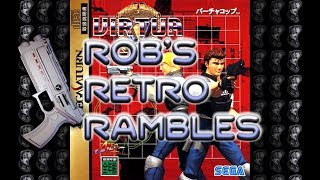 Virtua Cop on Sega Saturn (Rob