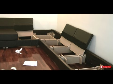 Nabru Sofa Self Assembly 6 Top Tips Help And Advice Youtube