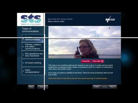 RYA VHF Marine Radio Course | Sea Training Sussex