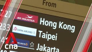 Travellers at Changi Airport hit by flight delays caused by Hong Kong unrest