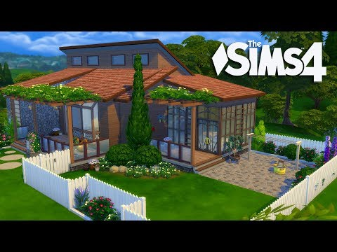 The Sims 4 - Laundry Day Stuff House Build (Part 1) Realtime