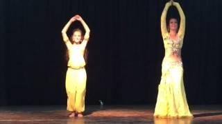 Восточный танец. Аиша и Натали! Кипр 2016