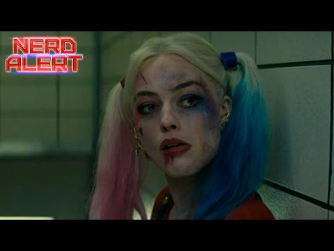 Suicide Squad Official Movie Trailer - Harley Quinn Breakdown