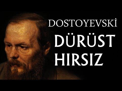 """""""Dürüst Hırsız"""" Dostoyevski sesli kitap tek parça seslendiren: Akın ALTAN"""