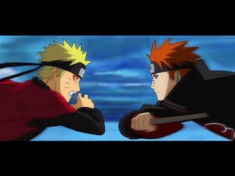 Amv Naruto vs Pain [Does Guren]