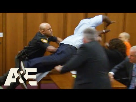 Court Cam: Father Of Victim JUMPS On Convicted Criminal (Season 1) | A&E