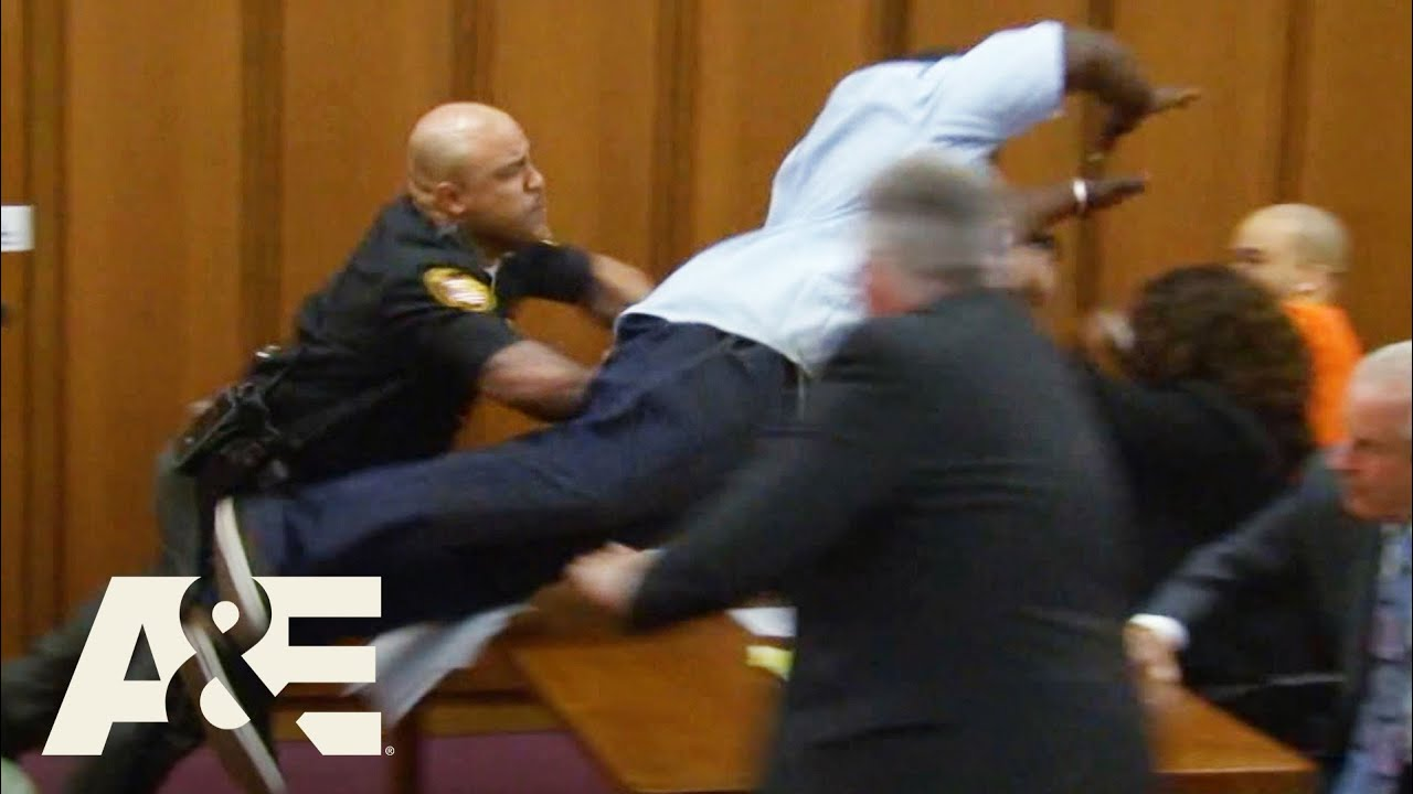 Download Court Cam: Father of Victim JUMPS on Convicted Criminal (Season 1) | A&E