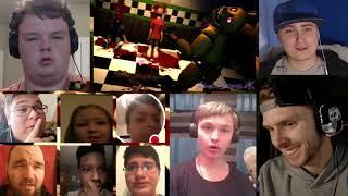 FNAF / SFM | Death Of The Afton Family | It's Murder - Mayhem (LAPFOX TRAX) [REACTION MASH-UP]#110