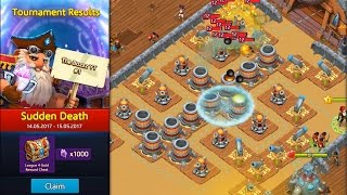 Survival Arena - Sudden Death: First Place Strategy | Best Way to Get on a High Place