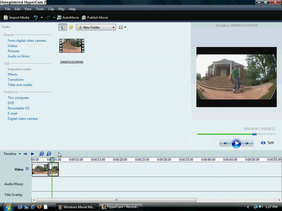 how to rampedslow mo with windows movie maker youtube