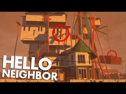 NEW ALPHA 3 HOUSE IS HUGE! | Hello Neighbor Alpha 3 in depth Analysis