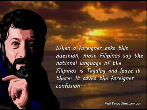 Filipino Lesson 201: A Brief History of the Tagalog and Filipino Language