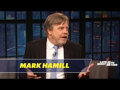Mark Hamill con Seth Meyers
