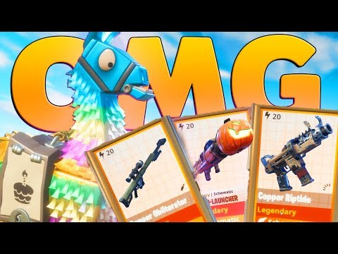 LUCKIEST Birthday LLAMA OPENING | Fortnite Save The World