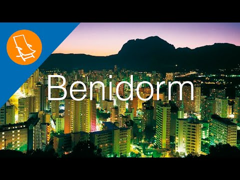 Benidorm - The tourist capital of ther Costa Blanca