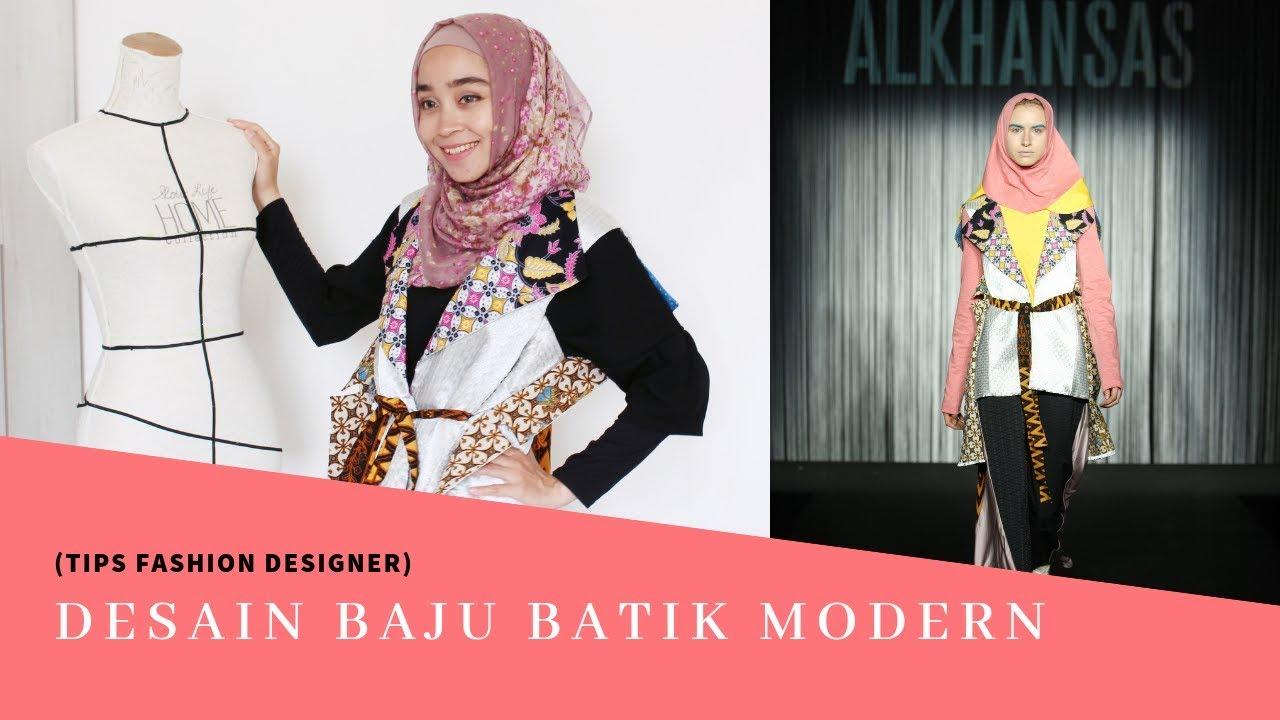 Model Baju Batik Desain Baju Batik Modern