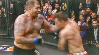 Бой Александр Емельяненко vs Артём Тарасов. Что это было. Нокаутировать не смог. Полный бой
